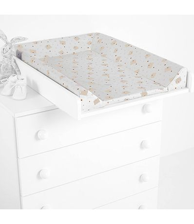 Table-a-langer-CP-1199-Blanc-ours-coeurs-Beige