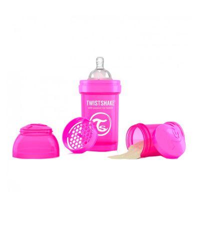 Biberon-Twistshake-Anti-colique-180-Ml-Rose