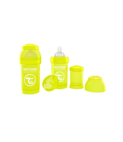 Biberon-Twistshake-Anti-colique-180Ml-Jaune