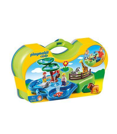 Playmobil-123-Malette-zoo-et-aquarium