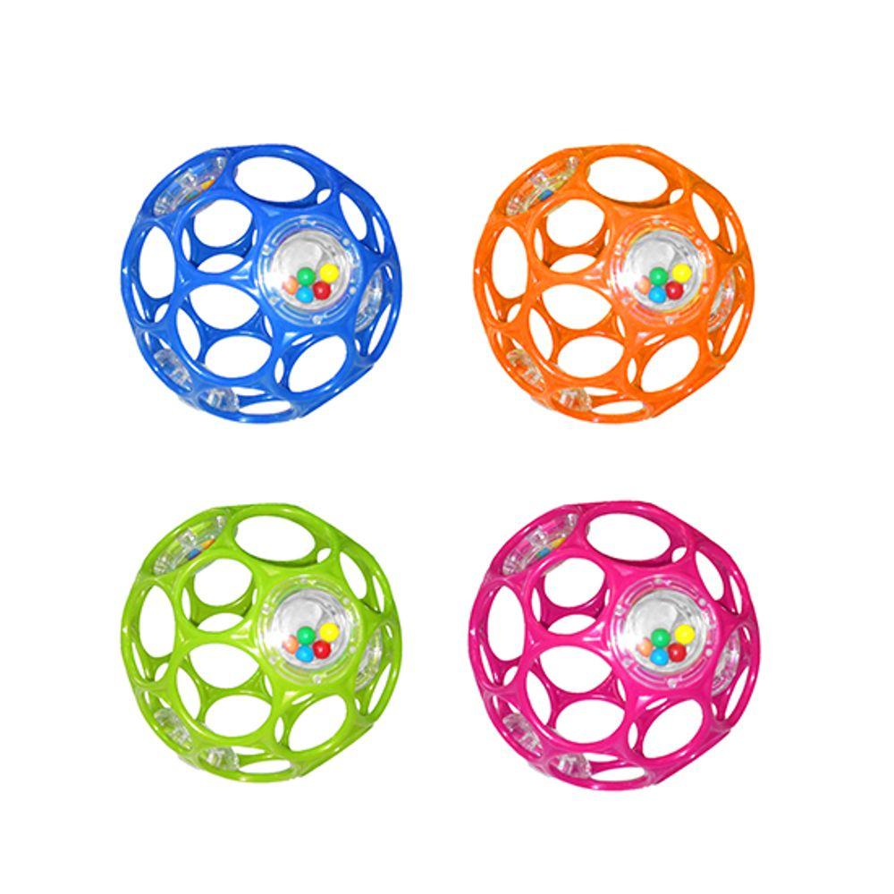 10 cm assortiment de couleurs Oball Rattle