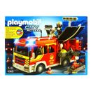 Playmobil-Camion-de-Pompiers-avec-Son-et-Lumiere