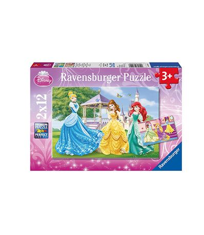 2-puzzles-Princesse-12-pieces