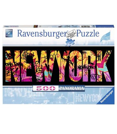 New-York-panorama-graffiti-Puzzle-500-pieces