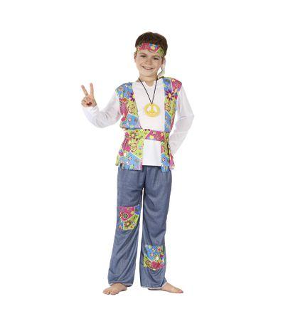 Hippie-Costume-enfant-6-8-ans