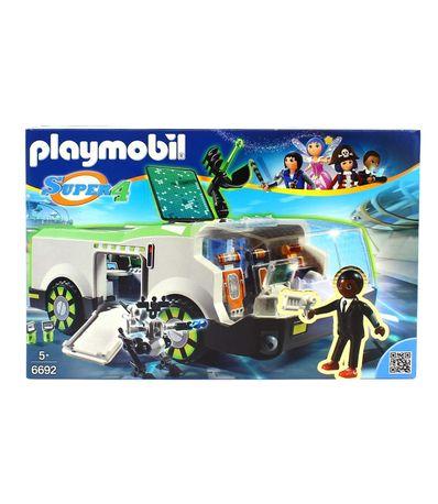 Playmobil-Super4-Techno-Cameleon-avec-Gene