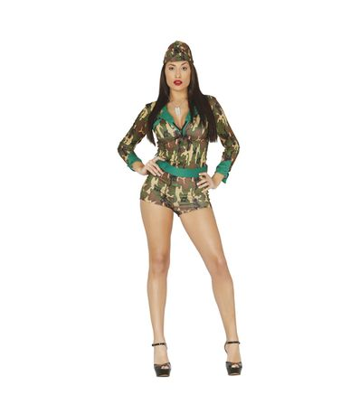 Adulte-Sexy-militaire-Costume-36-38