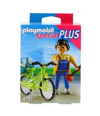 Playmobil-Bricoleur-avec-materiel-et-velo