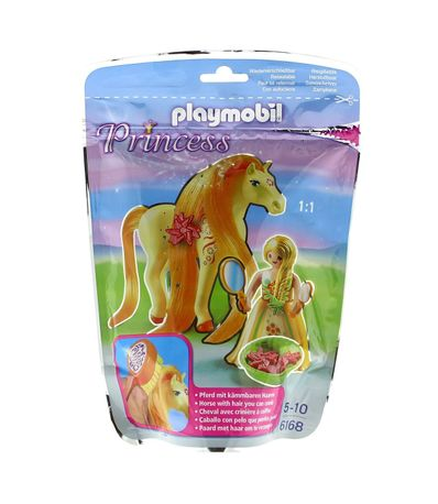 Playmobil-Princesse-Soleil-avec-Cheval