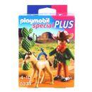 Playmobil-Cowboy-avec-Poulain