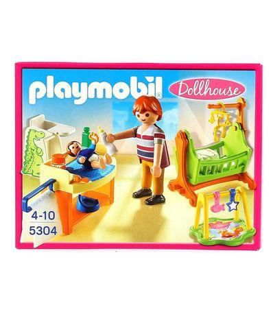 Playmobil-Dollhouse-Chambre-de-bebe