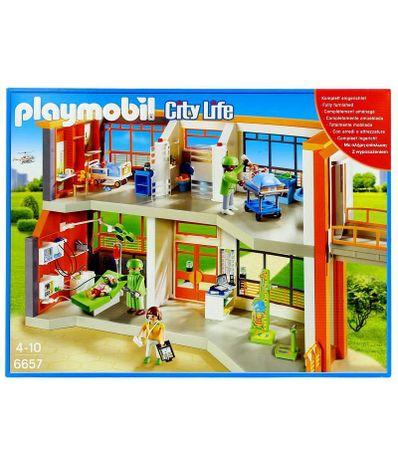 Playmobil-Hopital-pediatrique-amenage