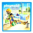 Playmobil-Chambre-d-enfant-avec-medecin