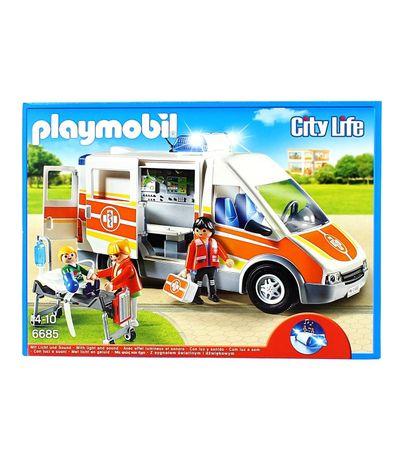 Playmobil-Ambulance-avec-gyrophare-et-sirene