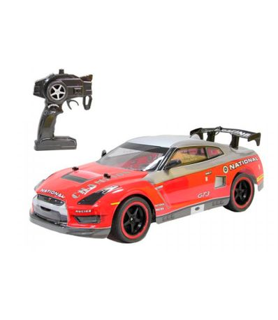 Voiture-RC-Sportive-Rouge-Echelle-1-10