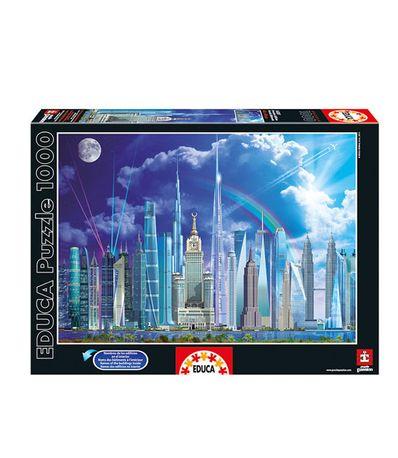 Grands-batiments-Puzzle-1000-pieces