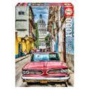 Puzzle-Voiture-a-La-Havane-de-1000-Pieces