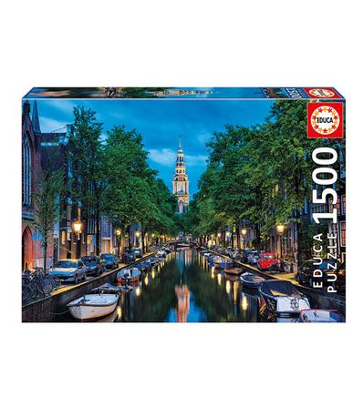 Puzzle-1500-Canal-Amsterdam