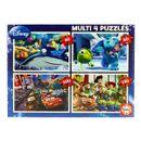 Pixar-Multi-4-Puzzles