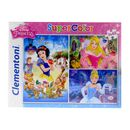 Princesses-Puzzle-3-x-48-pieces
