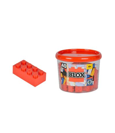 Blox-Bote-40-Pz-blocs-rouges