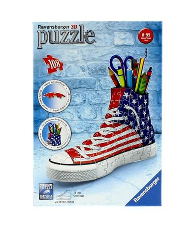 Puzzle-Pot-pour-Stylos-Sneaker-Flag-108-Pieces