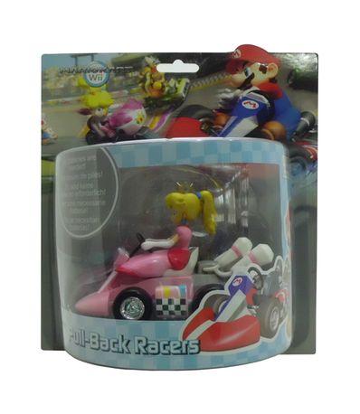 Voiture-miniature-Kart-Peach-12-cm