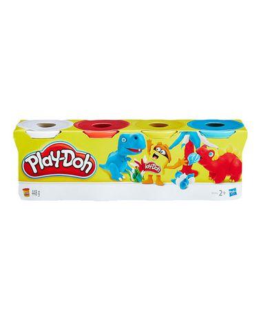 Play-Doh-Pack-Bleu-Jaune-Rouge-et-Blanc