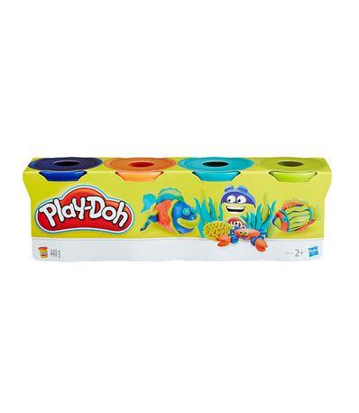 Play-Doh-Pack-Bleu-Orange-Vert-et-Turquoise