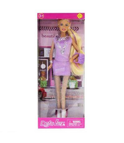 Poupee-Fashion-Robe-Lila