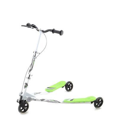 Double-Roue-Scooter-125mm-Vert