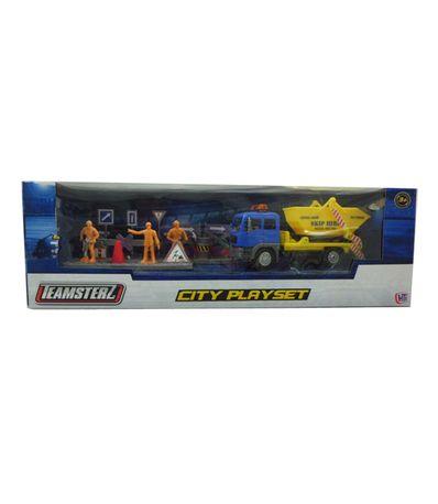 camion-construction-jaune