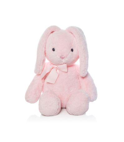 Lapin-rose-doux-en-peluche-25-cm