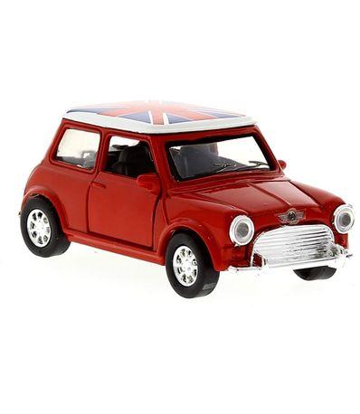 Voiture-Miniature-Mini-Cooper-Vintage-Rouge-E-1-32