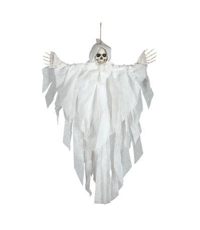 Pendentif-de-squelette-blanc