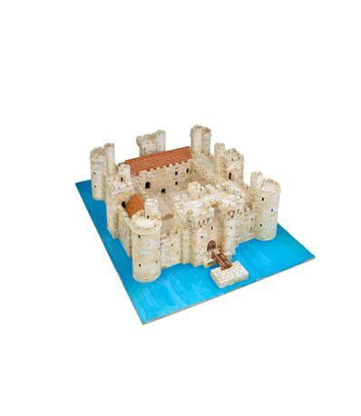 Maquette-Chateau-Bodiam-Echelle-1-80