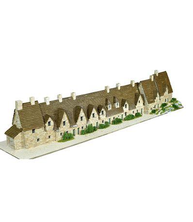 Maquette-maisons-anglaises-Bibury-Echelle-1-87