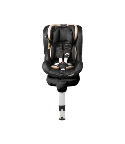 Swivel-Fix-Groupe-0-1-Rotative-Noir-Beige