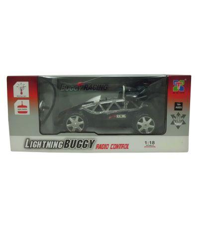 Voiture-RC-Buggy-Noir-Echelle-1-18