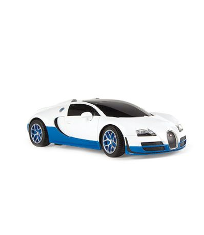 Voiture-RC-Bugatti-Grand-Sport-Blanc-Echelle-1-24