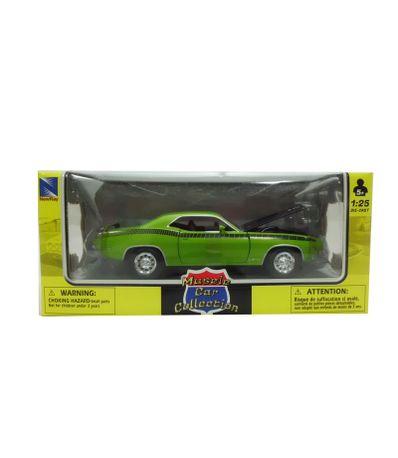 Voiture-miniature-Plymouth-Vert-Echelle-1-24