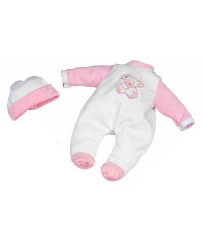 Vetements-pour-bebe-Pyjama-blanc-avec-Osito