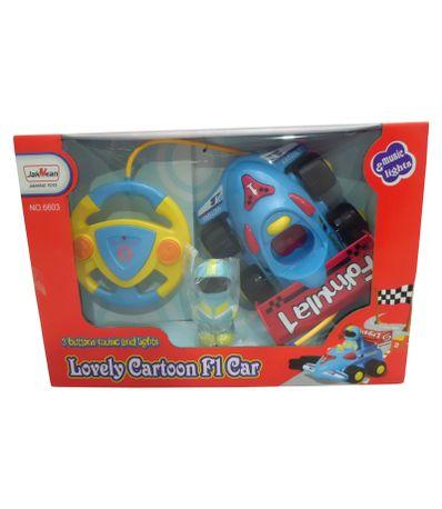 Voiture-RC-F1-C-Volant-Bleu