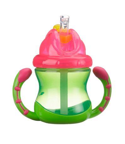 Coupe-de-paille-et-poignees-240-ml-vert