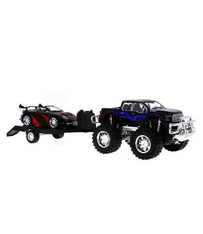 Jeep-Jouet-Avec-Remorque-et-Voiture-Decapotable