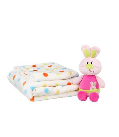 Set-cadeau-couverture-avec-lapin-rose