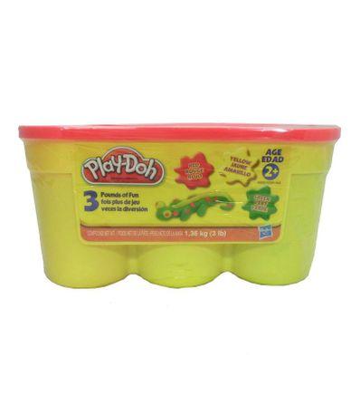 Play-Doh-3-Pate-a-Modeler-Rouge-Jaune-et-Vert
