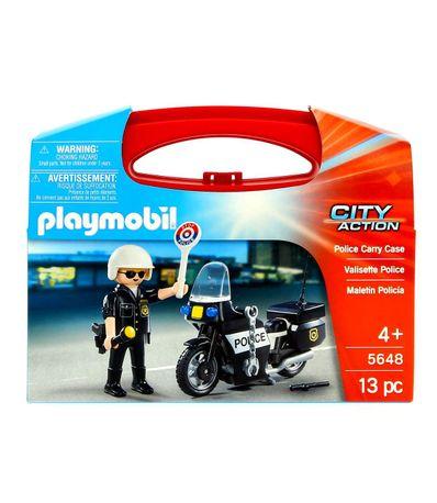 Playmobil-Valise-avec-Moto-de-Police