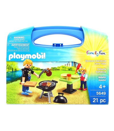 Playmobil-Grill-Barbecue