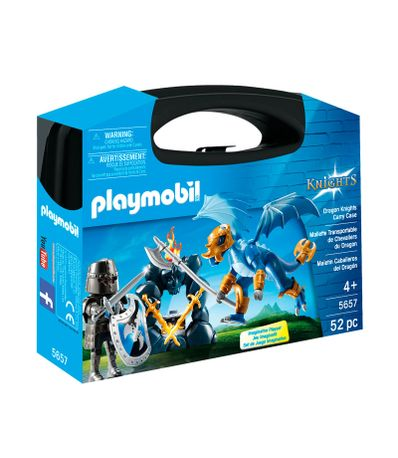 Playmobil-Valise-Chevalier-du-Dragon